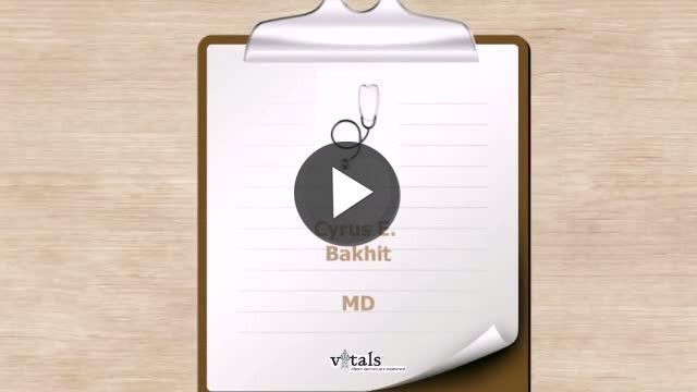 dr Cyrus Bakhit dr Cyrus Bakhit Video Profile