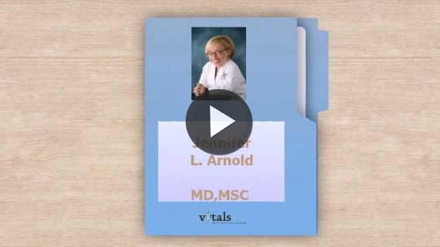 Video: Dr. Jennifer Arnold, M.Sc, MD