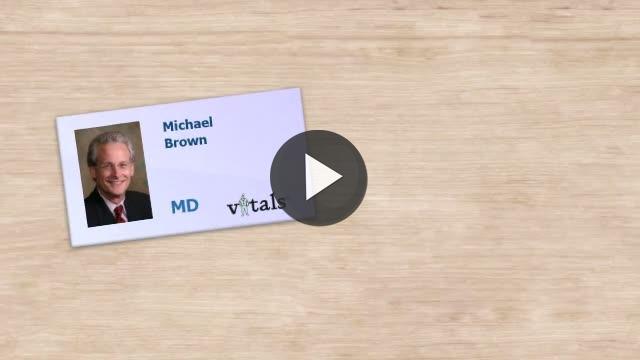 Dr. Michael Brown Video Profile | Pulmonary Disease in