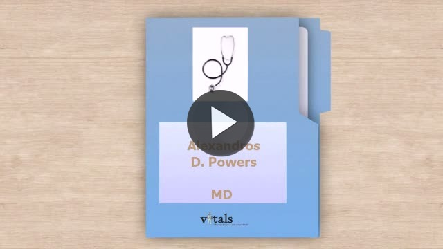 Dr  Alexandros D Powers