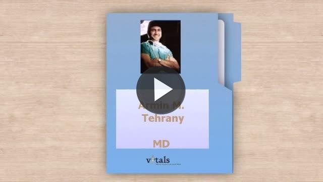Dr  Armin M Tehrany