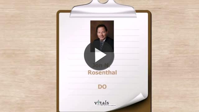 Dr  Jon N Rosenthal
