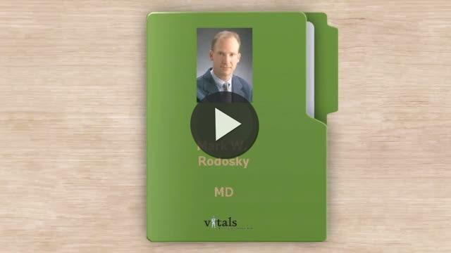 Dr  Mark W Rodosky