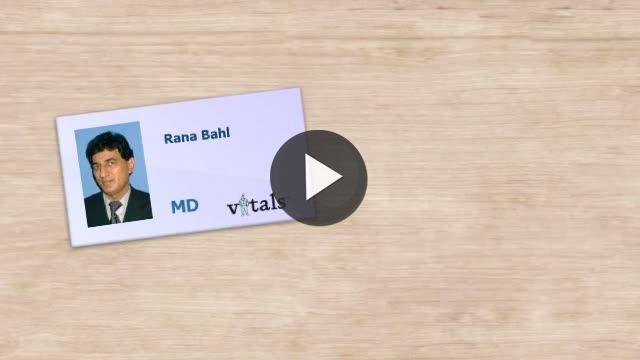 Dr  Rana A Bahl