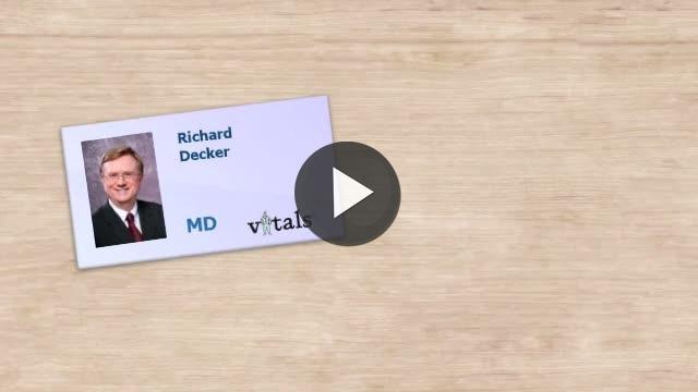 Dr Richard L Decker Md Reviews Erie Pa Vitals Com